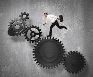 Bedrijfs mechanismesysteem Royalty-vrije Stock Afbeeldingen