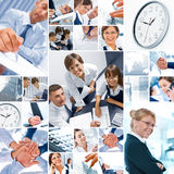 Bedrijfs mengeling Stock Fotografie
