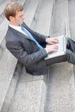 Bedrijfs mens Royalty-vrije Stock Foto's