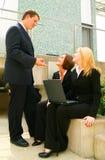 Bedrijfs Mens die Instructie geeft Royalty-vrije Stock Afbeeldingen