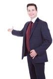 Bedrijfs mens die presentatie geeft Royalty-vrije Stock Afbeelding