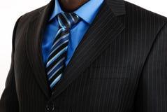 Bedrijfs mens in een kostuum stock foto