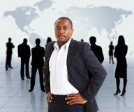 Bedrijfs mens en stock afbeeldingen