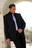 Bedrijfs mens in kostuum Stock Afbeelding