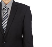 Bedrijfs mens in kostuum royalty-vrije stock fotografie