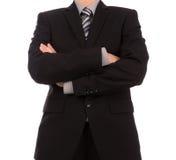 Bedrijfs mens in kostuum royalty-vrije stock foto