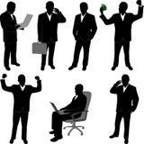 Bedrijfs mens - vector Stock Fotografie