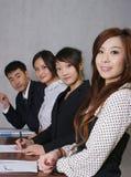 Bedrijfs mensen Stock Fotografie