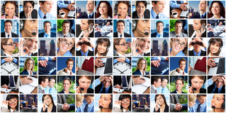 Bedrijfs mensen Royalty-vrije Stock Foto's