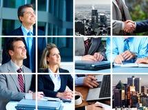 Bedrijfs mensen Stock Afbeeldingen
