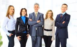 Bedrijfs mensen in het bureau. Stock Afbeeldingen