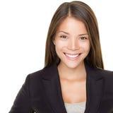 Bedrijfs mensen: Jonge Aziatische onderneemster Stock Foto