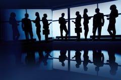 Bedrijfs mensen op kantoor Stock Foto's
