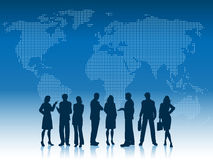 Bedrijfs mensen van de wereld Stock Foto