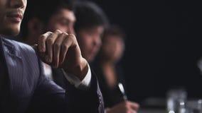 Bedrijfs mensen in vergadering Royalty-vrije Stock Afbeelding