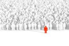 Bedrijfs mensenachtergrond Royalty-vrije Stock Afbeelding