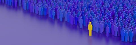 Bedrijfs mensenachtergrond Stock Foto's