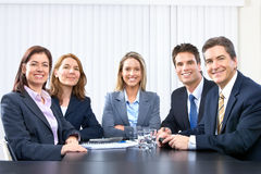 Bedrijfs mensenteam Stock Afbeelding