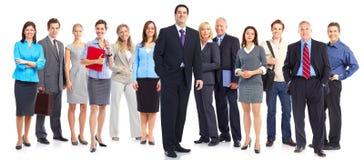 Bedrijfs mensenteam Stock Foto's