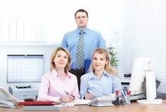 Bedrijfs mensenteam stock fotografie