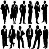 Bedrijfs mensenvector Stock Afbeeldingen