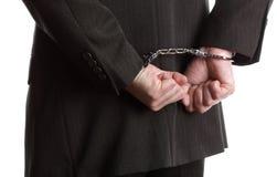Bedrijfs misdaad royalty-vrije stock foto's