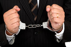 Bedrijfs misdaad Royalty-vrije Stock Afbeelding