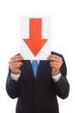 Bedrijfs mislukking Stock Afbeeldingen