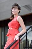 Bedrijfs mooie vrouw Royalty-vrije Stock Afbeelding