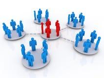 Bedrijfs netwerk