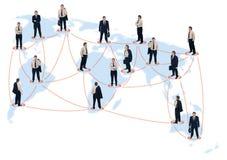 Bedrijfs netwerk Royalty-vrije Stock Afbeeldingen