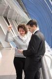 Bedrijfs onderhandelingen Stock Fotografie