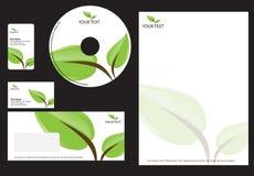 Bedrijfs ontwerpMalplaatje Stock Afbeelding