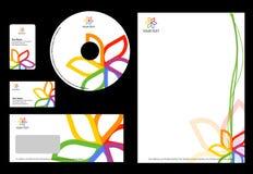 Bedrijfs ontwerpMalplaatje Royalty-vrije Stock Foto's