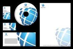 Bedrijfs ontwerpMalplaatje Stock Afbeeldingen