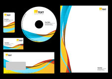 Bedrijfs ontwerpMalplaatje Stock Fotografie