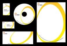 Bedrijfs ontwerpMalplaatje Stock Foto's