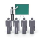 Bedrijfs opleiding stock illustratie