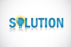 Bedrijfs oplossingen Vector Illustratie
