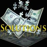 Bedrijfs oplossingen Royalty-vrije Stock Afbeeldingen