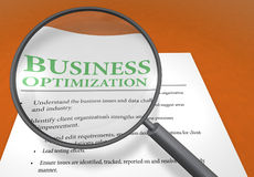 Bedrijfs optimalisering stock illustratie