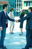 Bedrijfs Overeenkomst royalty-vrije stock afbeeldingen