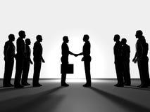 Bedrijfs overeenkomst Stock Fotografie