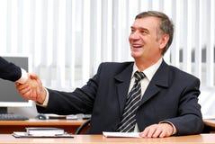 Bedrijfs overeenkomst. royalty-vrije stock foto