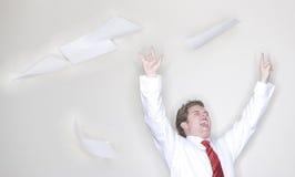 Bedrijfs overwinning Stock Foto's