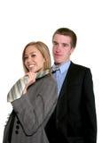 Bedrijfs Paar Royalty-vrije Stock Afbeelding