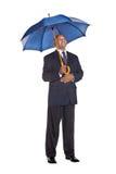Bedrijfs paraplu Stock Afbeeldingen