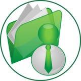 Bedrijfs pictogram Royalty-vrije Stock Afbeelding