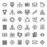 Bedrijfs pictogram stock illustratie