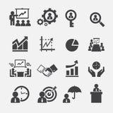 Bedrijfs pictogram Stock Afbeeldingen